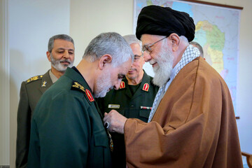 واکنش سردار سلیمانی به دریافت مدال ذوالفقار