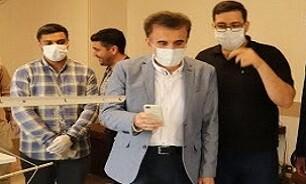 بازید رئیس دانشگاه علوم پزشکی قم از قرارگاه شهید قاسمی بسیج دانشجویی