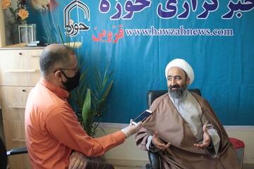 تشکر استاد حوزه علمیه قزوین از خبرگزاری حوزه
