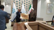 قدردانی مدیر حوزه علمیه یزد از  شهردار و دو عضو شورای شهر+ عکس
