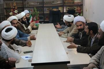 تصاویر/ نشست مدیران مدرسه علمیه امام صادق (ع) قروه با مدیر حوزه کردستان