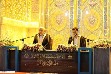 تصاویر/ محفل قرآنی ماه رمضان در حرم مطهر کاظمین (علیهما السلام)