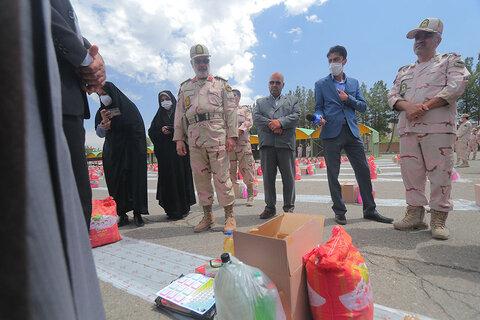 دومین رزمایش مواسات و همدلی بین مرزنشینان شرق کشور در خراسان جنوبی برگزار شد