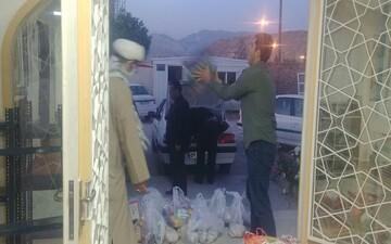 اجرای رزمایش «کمک مومنانه» در حوزه علمیه سرپل ذهاب+ عکس
