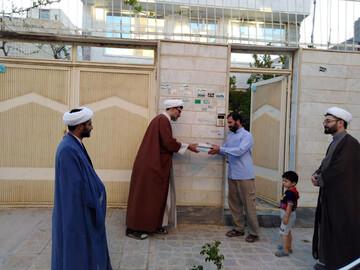 تصاویر/ تجلیل متفاوت از اساتید مدرسه علمیه حضرت امام خمینی (ره) بجنورد در هفته معلم
