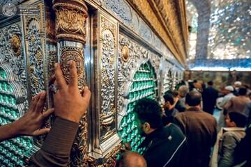 تصاویر/ حال و هوای صبحگاهی حرم حضرت امیرالمؤمنین(ع) در ماه رمضان