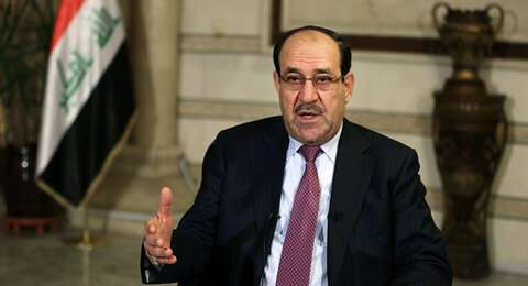 نوری المالکی رئیس ائتلاف دولت قانون عراق