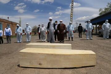 تصاویر/ طلاب و حوزویان شهرستان اهر در خط مقدم مقابله با کرونا
