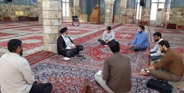 دیدار شورای مرکزی بسیج دانشجویی دانشگاه شهید چمران با امام جمعه اهواز