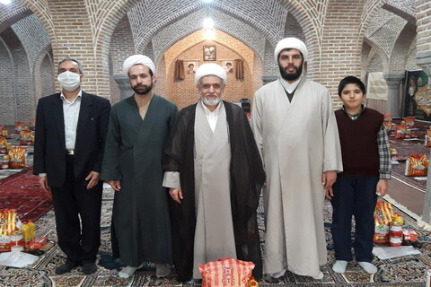 رزمایش همدلی و مواسات بسیج طلاب و روحانیون آذربایجان شرقی
