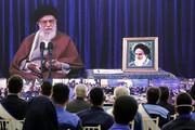 صوت کامل بیانات رهبر انقلاب در ارتباط تصویری با مجموعههای تولیدی