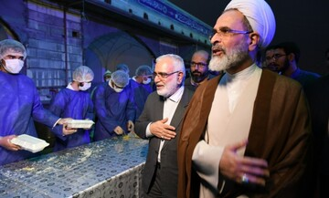 برگزاری آیین افتتاح هزار و ۱۰۴ مرکز اطعام مهدوی در مسجد مقدس جمکران