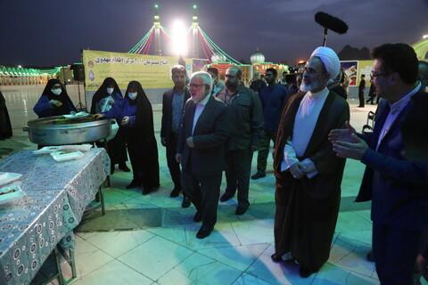 تصاویر/افتتاح همزمان ۱۰۰۰ مرکز اطعام مهدوی