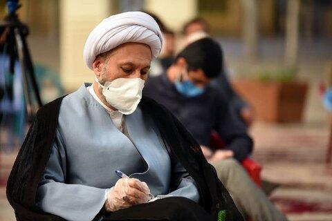 دیدار اعضای ستاد نماز جمعه با امام جمعه شیراز