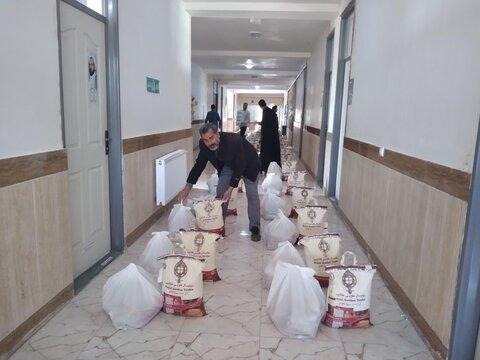 تصاویر شما/ مشارکت طلاب جهادی سجاس در رزمایش همدلی و مواسات