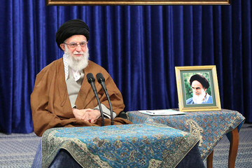 Imam Khamenei; when Iran can launch a satellite into space, a surge in production is also doable