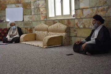 فرماندهان سپاه خوزستان با امام جمعه اهواز دیدار کردند