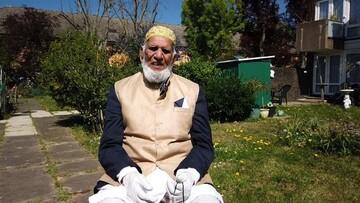 مسلمان ۱۰۰ ساله با حرکت نمادین خود ۹۰ هزار دلار به قربانیان کرونا کمک کرد