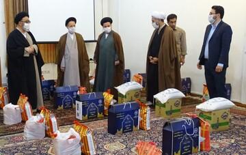 ۳هزار سبد غذایی در رزمایش کمک مؤمنانه مرکز خدمات حوزه آذربایجان شرقی توزیع شد