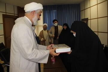 تقدیر مدیر حوزه علمیه قزوین از نماینده منتخب مردم در مجلس شورای اسلامی