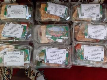 اجرای طرح افطاری ساده همزمان با ماه رمضان در شهر زیراب