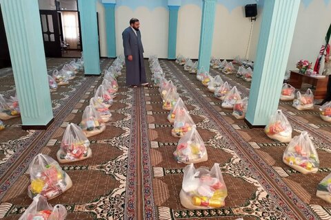 تصاویر/ رزمایش کمک مومنانه قرارگاه مواسات و همدلی شهرستان اسلام آبادغرب