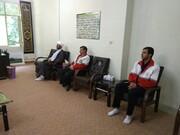 تقدیر مسئولان هلال احمر ایلام از طلاب جهادی