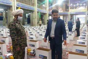 تصاویر/ توزیع بیش از ۱۵ هزار کمک مؤمنانه یزدیها در شامگاه میلاد امام حسن(ع)