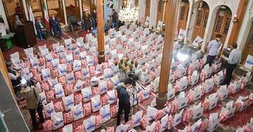 ۳۵ هزار بسته معیشتی توسط ستاد اجرای فرمان امام (ره) در اصفهان توزیع شد