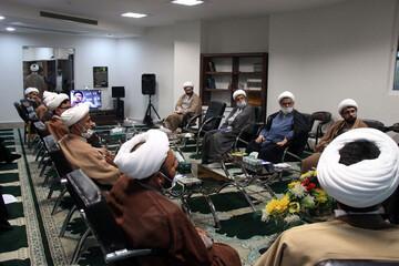 بالصور/ اجتماع لمديري المدارس العلمية في محافظة خراسان الشمالية في إيران