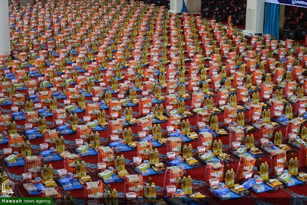 توزیع ۱۲ هزار بسته معیشتی و ۲۰ هزار غذای گرم در بهشهر
