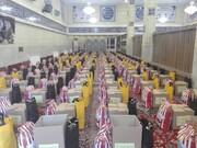 توزیع ۳۱۳ بسته معیشتی بین نیازمندان و اقشار کمبرخوردار شیرازی