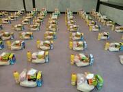 بانوان طلبه نهاوندی ۱۰۰ بسته معیشتی بین نیازمندان توزیع کردند