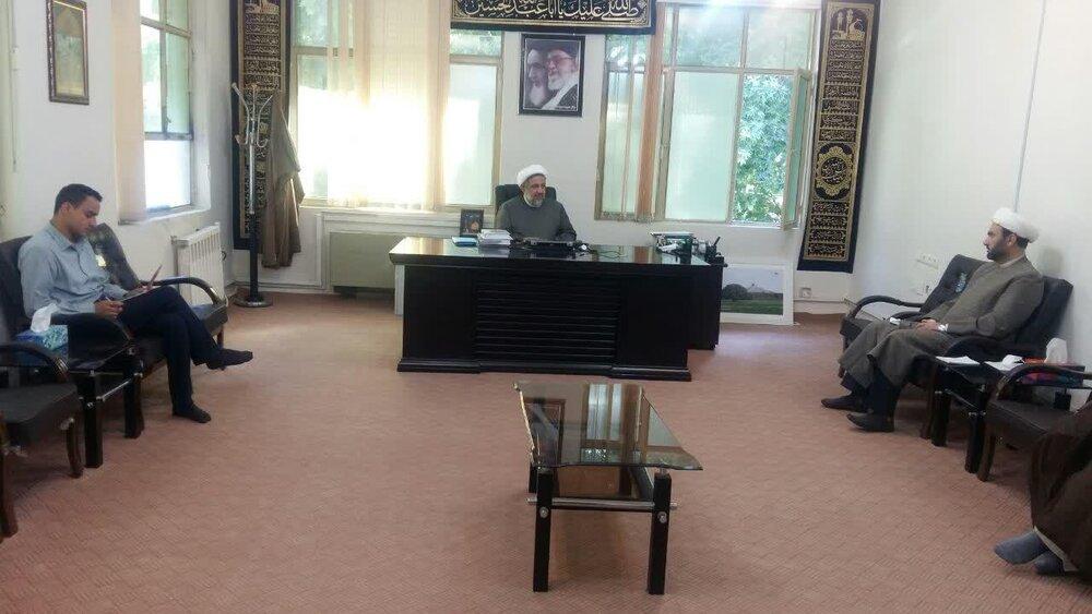 جلسه شورای معاونین حوزه علمیه استان ایلام