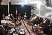 تصاویر / نشست ائمه جمعه همدان با مدیر حوزه علمیه استان