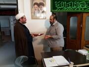 تقدیر مدیر مرکز خدمات حوزه علمیه البرز از قرارگاه خاتم الاوصیا(عج)