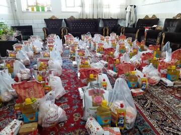 توزیع بستههای معیشتی در مناطق محروم لرستان و مازندران