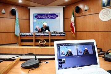 تصاویر/ سلسله دروس مجازی ماه مبارک رمضان آیت الله فاضل لنکرانی