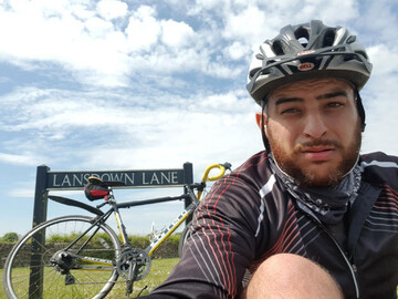 Cycling 1,000 miles during Ramadan to raise money for charity