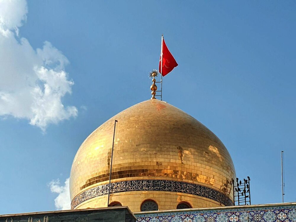 حرم حضرت زینب س خالی از حضور زائران در شب قدر