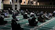 مراسم متفاوت اولین شب قدر در مصلای بوشهر