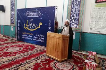 کمک های مؤمنانه مژده آمادگی امت برای پذیرش امام معصوم(ع) است