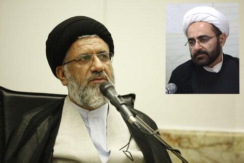 حجت الاسلام حسینی نژاد و حجت الاسلام بهرامی