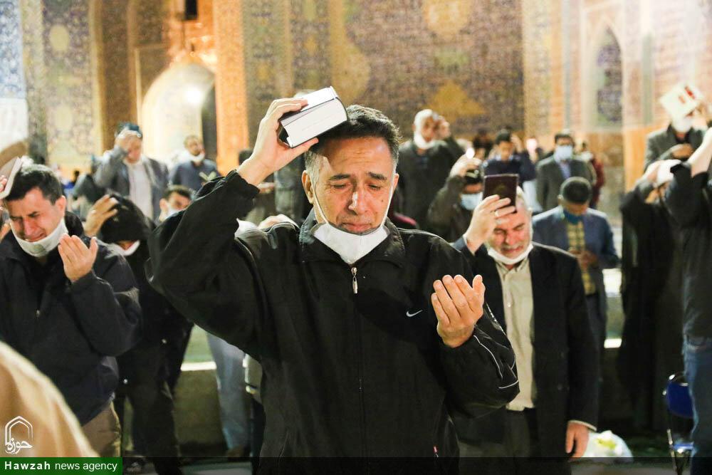 تصاویر/ احیای شب نوزدهم ماه مبارک رمضان در مسجد امام اصفهان