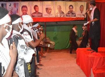 برگزاری مراسم عزای مولای متقیان علی (ع) در شهر ابوجا پایتخت نیجریه +تصاویر