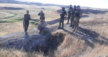 حشد الشعبی و پلیس عراق گذرگاه نفوذی داعش را در کرکوک بستند +تصاویر