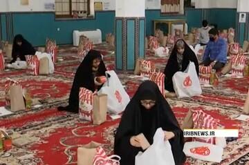 فیلم| مشارکت طلاب و دانشجویان یزدی در رزمایش کمک مومنانه برای نیازمندان در شبهای قدر