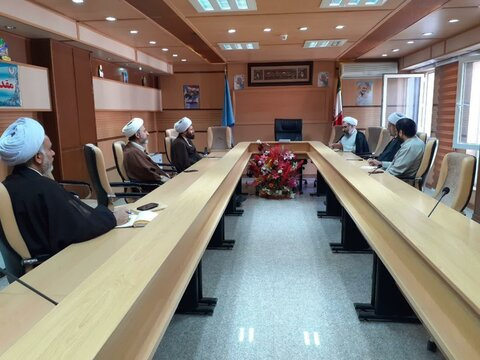 تصاویر/ برگزاری بیستمین جلسه شورای هماهنگی نهادهای حوزوی کردستان