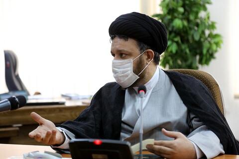 تصاویر/دیدار مجمع نمایندگان طلاب با ایت الله اعرافی