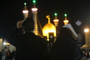 تصاویر/ احیای شب بیست و یکم ماه مبارک رمضان در جوار حرم حضرت معصومه (ع)